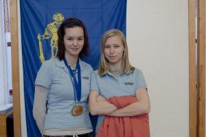 Anuša in Nika na Pokal SLO