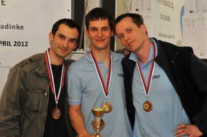 DP 2012 ekipno 3. mesto